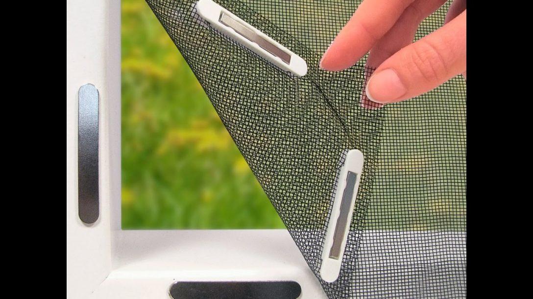 Large Size of Easymaxmoskitonetz 150x130cm Fr Fenster Mit Magnetbefestigung Fliegengitter Maßanfertigung Magnettafel Küche Für Wohnzimmer Fliegengitter Magnet