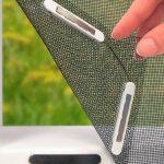 Easymaxmoskitonetz 150x130cm Fr Fenster Mit Magnetbefestigung Fliegengitter Maßanfertigung Magnettafel Küche Für Wohnzimmer Fliegengitter Magnet
