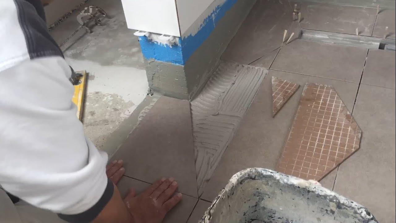 Full Size of Fliesen Verlegen Boden Begehbare Dusche Youtube 90x90 Rainshower Badewanne Mit Tür Und Mischbatterie Pendeltür Duschen Breuer 80x80 Raindance Sprinz Dusche Begehbare Dusche Fliesen