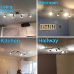 Wohnzimmer Küchenleuchte