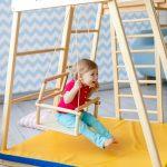 1 Kidwood Klettergerst Rakete Junior Set Aus Holz Fr Indoor Klettergerüst Garten Wohnzimmer Klettergerüst Indoor