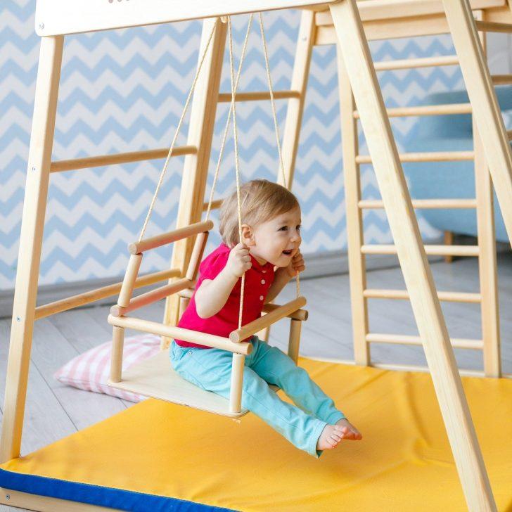 Medium Size of 1 Kidwood Klettergerst Rakete Junior Set Aus Holz Fr Indoor Klettergerüst Garten Wohnzimmer Klettergerüst Indoor