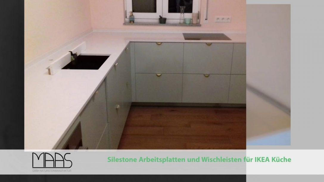 Large Size of Unterhaching Ikea Kche Mit Eternal Statuario Silestone Arbeitsplatten Küche Kaufen Sofa Schlaffunktion Miniküche Betten Bei Kosten 160x200 Modulküche Wohnzimmer Küchenrückwand Ikea