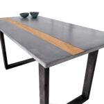 Esstisch Modern Esstische Beton Tisch Esstisch Modern Minimalistisch Esszimmer Design Modernes Bett Lampen 180x200 Küche Holz Musterring Grau Betonplatte Antik Deckenleuchte