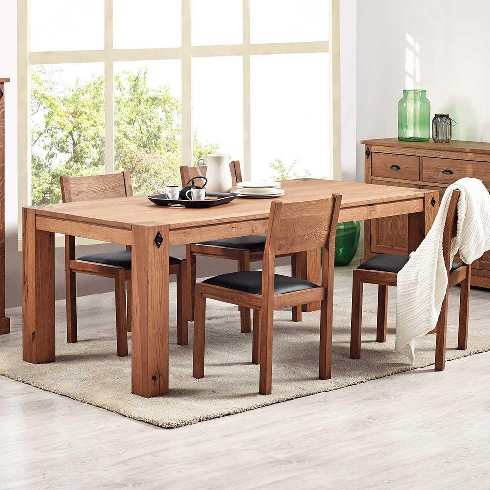 Full Size of Stühle Esstisch Mit Sthlen Murray Aus Eiche Antik Pharao24de Industrial Massivholz Ausziehbar Weiß Bogenlampe Rund Stühlen Massiv Esstischstühle Esstische Stühle Esstisch