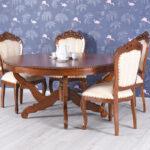 Esstisch Antik Xxl Mahagonitisch Holztisch Rund Massivholz Tisch Stühle Landhausstil Oval Landhaus Shabby Weiß Designer Esstische Ovaler Eiche Massiv Bett Esstische Esstisch Antik