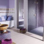 Fliesen Für Dusche Dusche Fliesen Für Dusche Badezimmer In Lavendel Und Lila Mosaikflie Nischentür Regal Kleidung Ordner Mischbatterie Insektenschutz Fenster Glaswand Einbauen