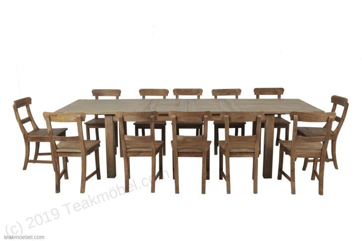 Medium Size of Esstisch Stühle Teak Ausziehbar 200 250 300x100 12 Sthle Teakmbelcom Massiv Moderne Esstische Industrial Vintage Weiss Eiche Runder Mit 4 Stühlen Günstig 2m Esstische Esstisch Stühle