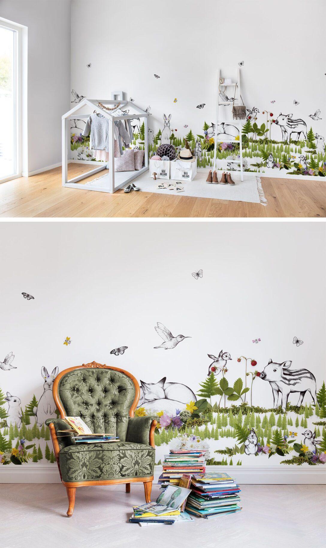 Large Size of The Rabbits Playground In 2020 Kinderzimmer Tapete Wanddeko Küche Regal Regale Weiß Sofa Kinderzimmer Kinderzimmer Wanddeko