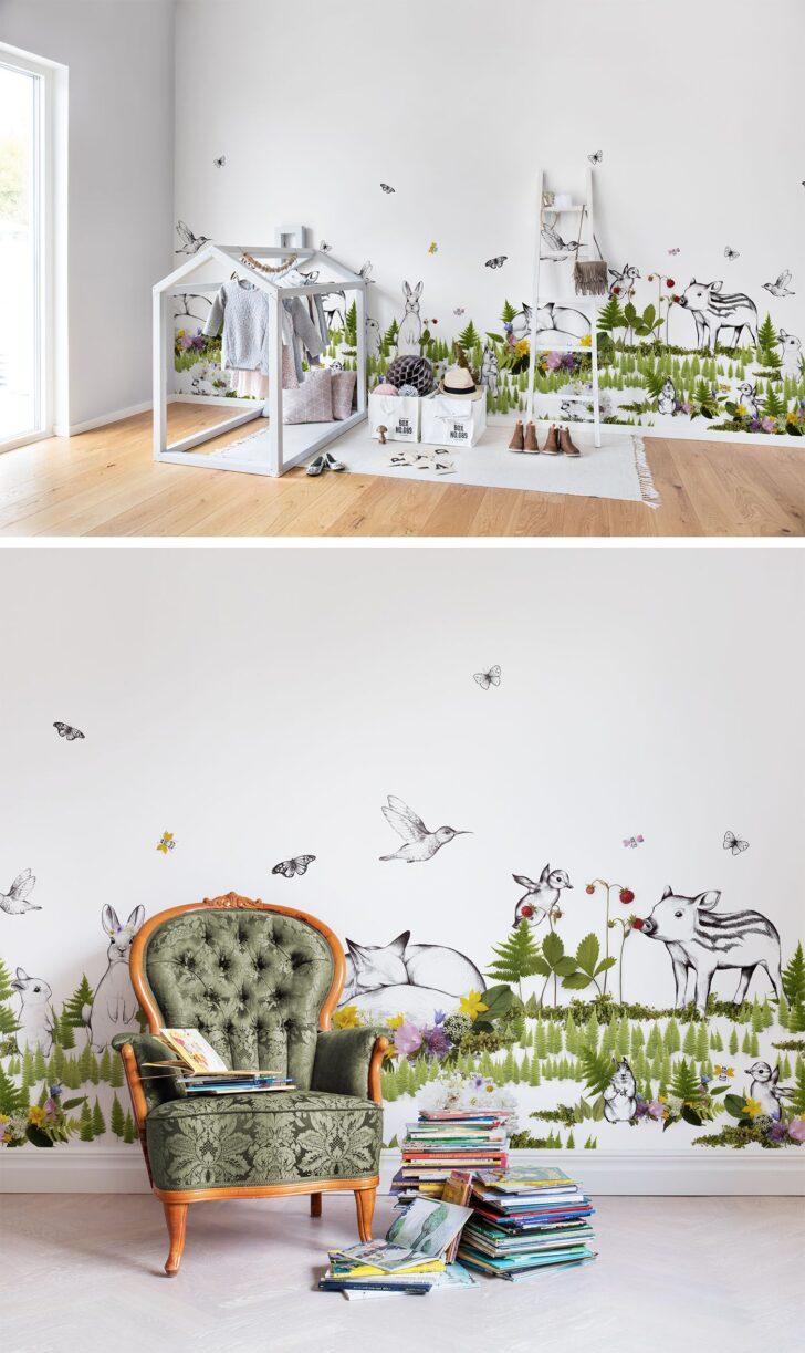 Medium Size of The Rabbits Playground In 2020 Kinderzimmer Tapete Wanddeko Küche Regal Regale Weiß Sofa Kinderzimmer Kinderzimmer Wanddeko