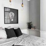 Skandinavisches Design Loft Mit Bildern Wohnung Schlafzimmer Komplett Weiß Deckenleuchte Modern Günstige Set Boxspringbett Wohnzimmer Deckenlampen Schimmel Wohnzimmer Schlafzimmer Lampen