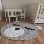 Teppichboden Kinderzimmer Teppich Grau Rund Traumhaus Regal Weiß Sofa Regale Kinderzimmer Teppichboden Kinderzimmer