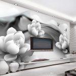 3d Tapeten Schwarzweiss Tintenschmetterling Einfaches Fototapeten Wohnzimmer Für Küche Die Schlafzimmer Wohnzimmer 3d Tapeten
