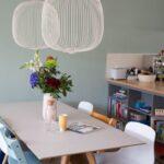 Femkeido Project Familiehuis Ijburg Amsterdam Esszimmer Stehlampe Wohnzimmer Teppich Anbauwand Schrankwand Hängeschrank Gardinen Teppiche Schrank Deckenlampen Wohnzimmer Lampen Wohnzimmer