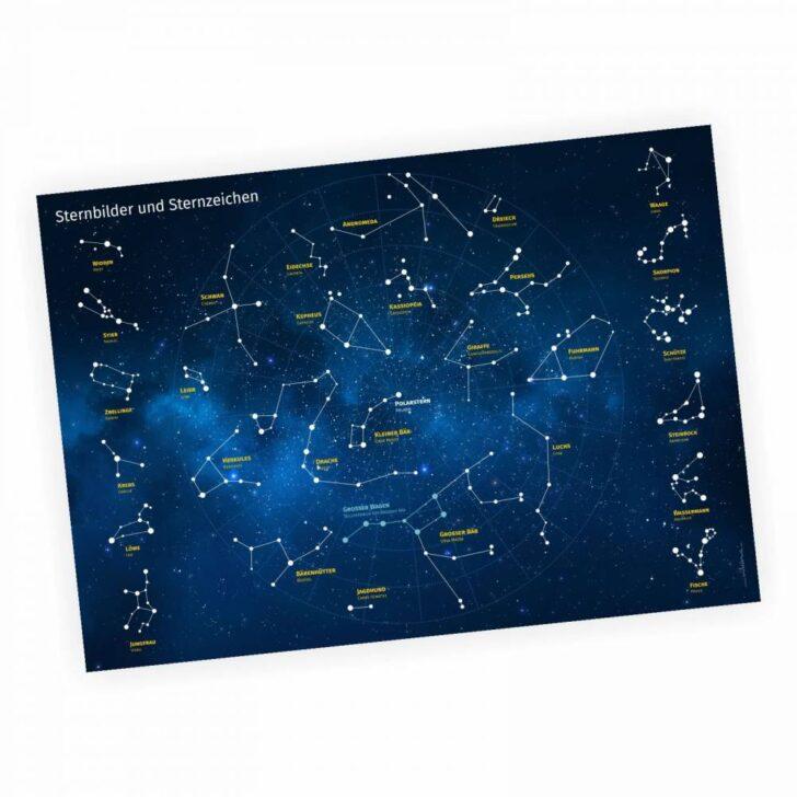 Medium Size of Sternenhimmel Kinderzimmer Lernposter Sternbilder Und Sternzeichen A3 Regal Weiß Sofa Regale Kinderzimmer Sternenhimmel Kinderzimmer