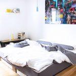 Betten Selber Bauen Wohnzimmer Kreative Betten Selber Bauen Bett Obi Anleitung Ideen Kinder Zum Selbst Ohne Lattenrost Paletten Balkenbett Einfache Pinterest Diy Eines Massiv Holz Bettes