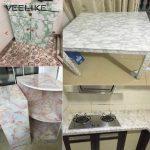 Küche Tapete Wohnzimmer Pvc Marmor Wasserdichte Kontaktieren Papier Vinyl Selbst Klebe Klapptisch Küche Hochglanz Grau Pantryküche Hängeschrank Glastüren Mülltonne Kaufen Ikea