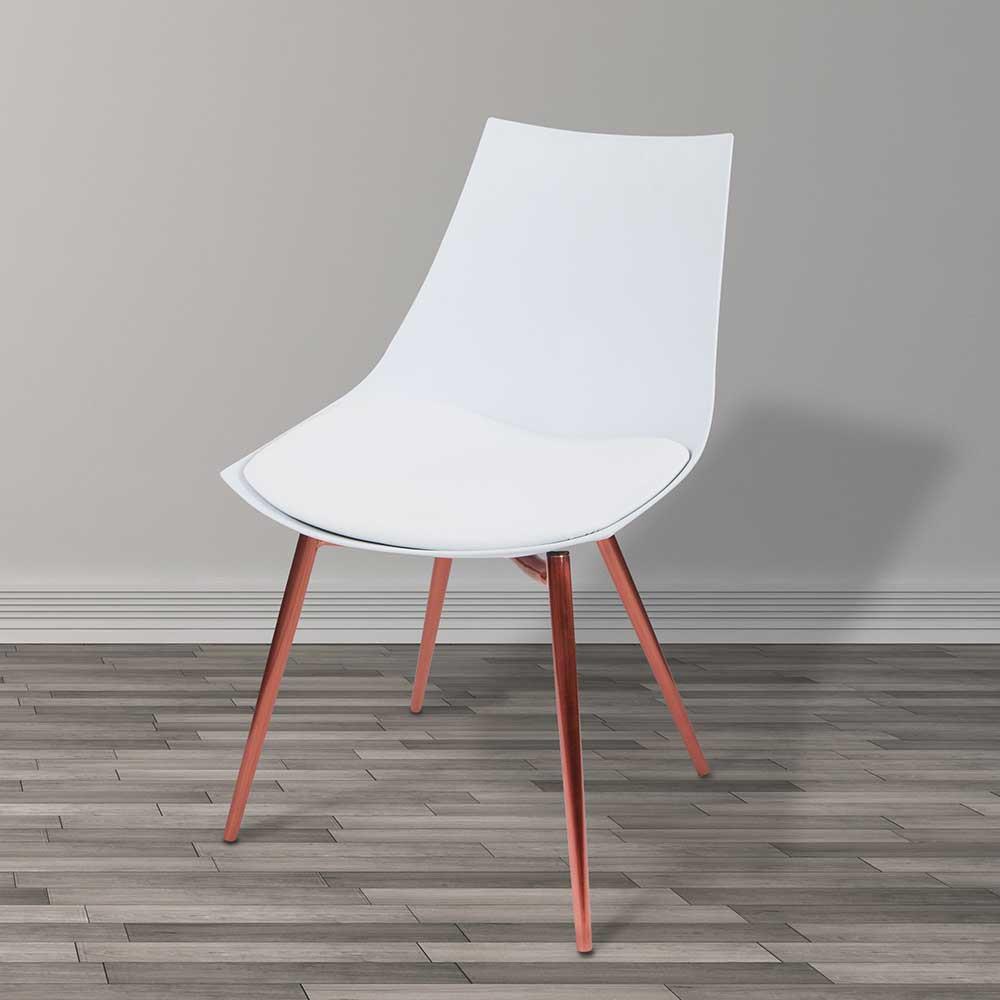 Full Size of Esstisch Modern Stuhl In Wei Kupfer Elegantes Design Industrial Und Stühle Moderne Esstische Mit Baumkante Quadratisch Antik Altholz Lampen Holz Massiv Esstische Esstisch Modern