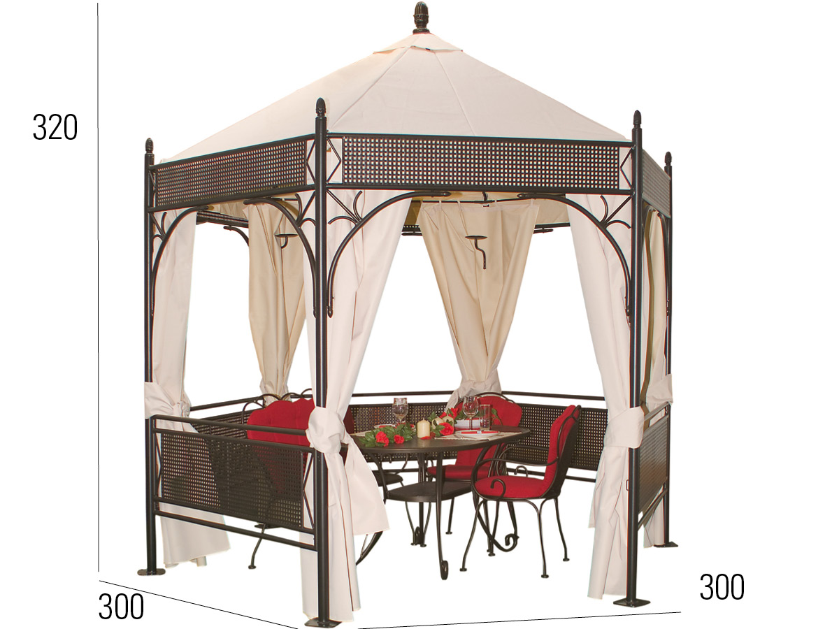 Full Size of Pavillon Rund Romeo Romantik 3 M Mbm Mnchner Boulevard Mbel Esstische Sofa Halbrund Runde Esstisch Ausziehbar Runder Sri Lanka Rundreise Und Baden Rundes Bett Wohnzimmer Pavillon Rund