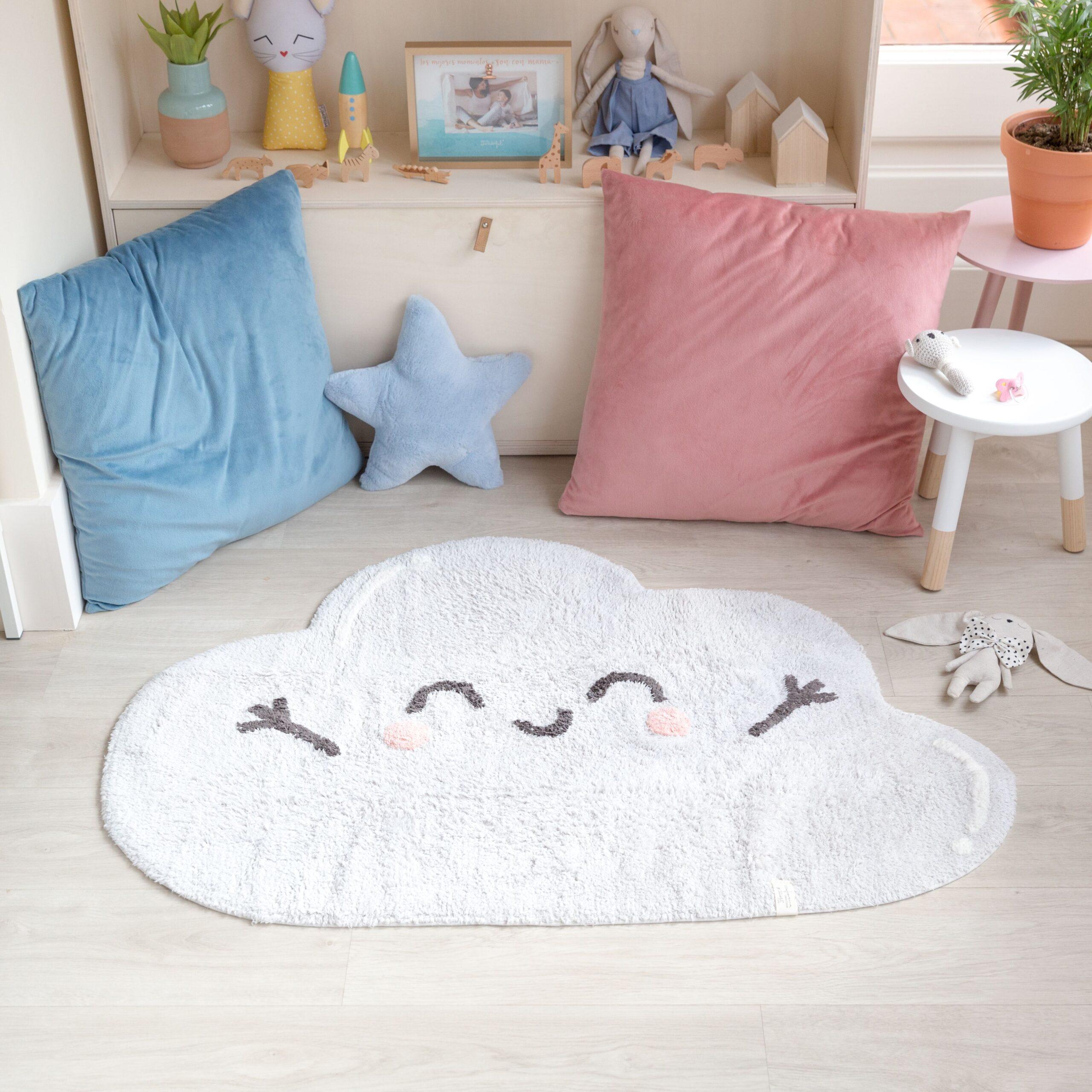 Full Size of Teppichboden Kinderzimmer Lorena Canals Teppich Happy Cloud Regal Weiß Regale Sofa Kinderzimmer Teppichboden Kinderzimmer