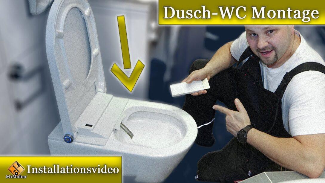 Large Size of Dusch Wc Test Montage Bernstein Pro Youtube Glastür Dusche Bodengleiche Fliesen Unterputz Armatur Grohe Thermostat Koralle Begehbare Schiebetür Duschen Dusche Dusch Wc Test
