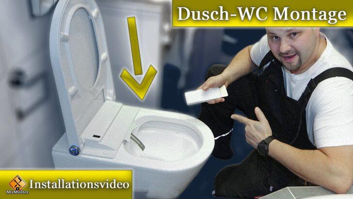 Dusch Wc Test Montage Bernstein Pro Youtube Glastür Dusche Bodengleiche Fliesen Unterputz Armatur Grohe Thermostat Koralle Begehbare Schiebetür Duschen Dusche Dusch Wc Test