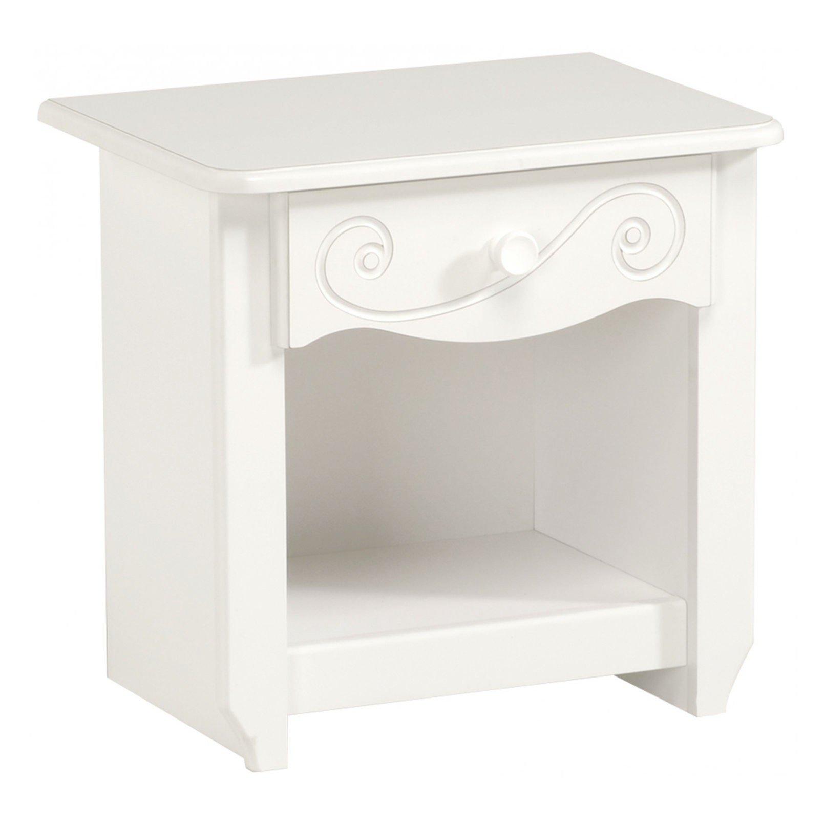 Full Size of Kinderzimmer Nachttisch Alice Mit 1 Ablagefach Schublade Regal Weiß Sofa Regale Kinderzimmer Nachttisch Kinderzimmer