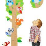 Messlatte Kinderzimmer Kinderzimmer 3 D Melatte Aus Holz Baum Lustige Eule Tiere Zum Klappen Kinderzimmer Regal Sofa Weiß Regale