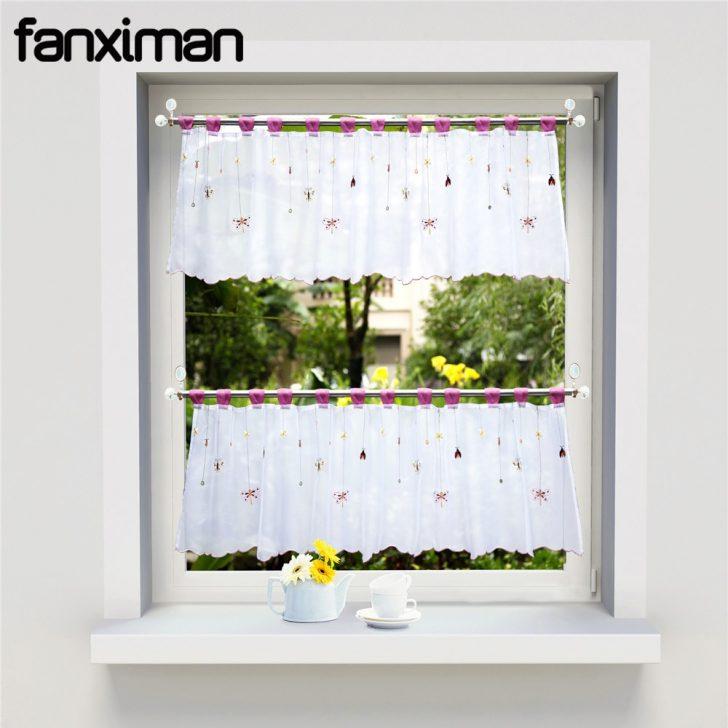 Medium Size of Scheibengardinen Küche Fenster Gardinen Für Schlafzimmer Die Wohnzimmer Wohnzimmer Kurze Gardinen