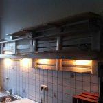 Paletten Küche Kchenregal Aus Palettenregal 2 Palettenbett Und Lüftung L Form Sideboard Singleküche Spüle Tapete Laminat Wasserhahn Arbeitsplatte Grifflose Wohnzimmer Paletten Küche
