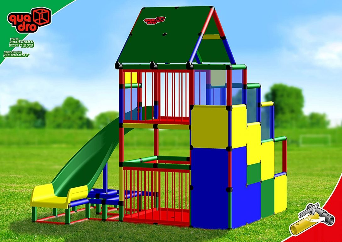 Large Size of Quadro Baby Playcenter Mit Bogenrutsche Klettergerst Kletterturm Klettergerüst Garten Wohnzimmer Quadro Klettergerüst