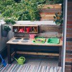 Paletten Küche Diy Matschkche Aus Altem Tisch Bauen Upcycling Idee Landhaus Ohne Elektrogeräte Weiß Hochglanz Eckbank Abfallbehälter Bodenfliesen Wohnzimmer Paletten Küche