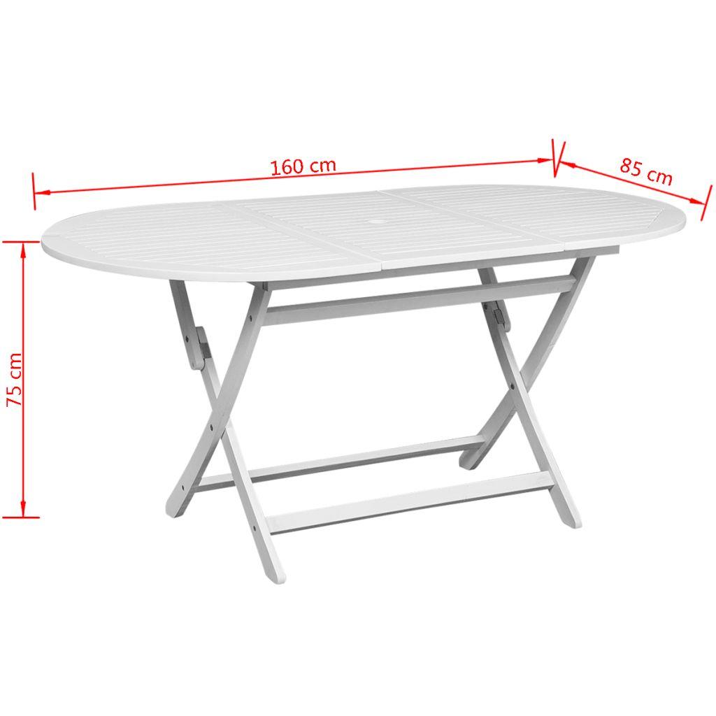 Full Size of Gartentisch Esstisch Wei Akazienholz Oval Gitoparts Ovaler Weiße Küche Landhausstil Mit 4 Stühlen Günstig Designer Esstische Weiß Badezimmer Hochschrank Esstische Esstisch Weiß Oval