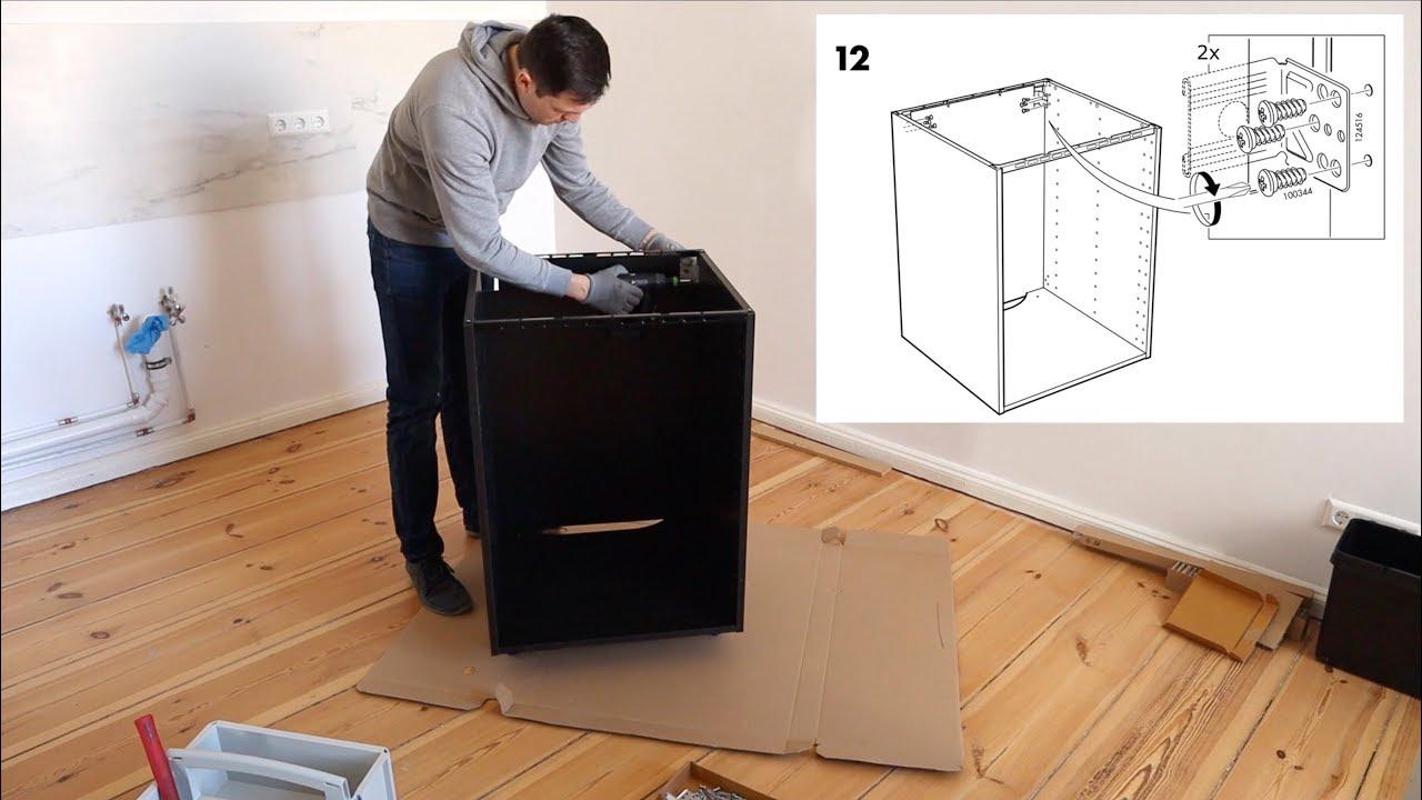 Full Size of Schrankküche Ikea Metod Unterschrank Aufbau Fr Einbauofen Sple Kche Korpus Küche Kosten Betten 160x200 Kaufen Bei Sofa Mit Schlaffunktion Miniküche Wohnzimmer Schrankküche Ikea