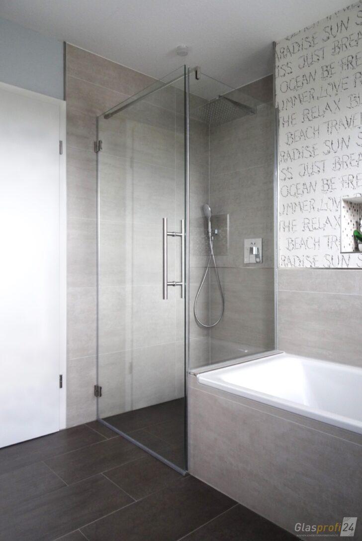 Medium Size of Dusche An Badewanne Glasprofi24 Rainshower Schulte Duschen Werksverkauf Hüppe Wand Grohe Thermostat Sprinz Ebenerdig Raindance Begehbare Antirutschmatte Dusche Glastrennwand Dusche
