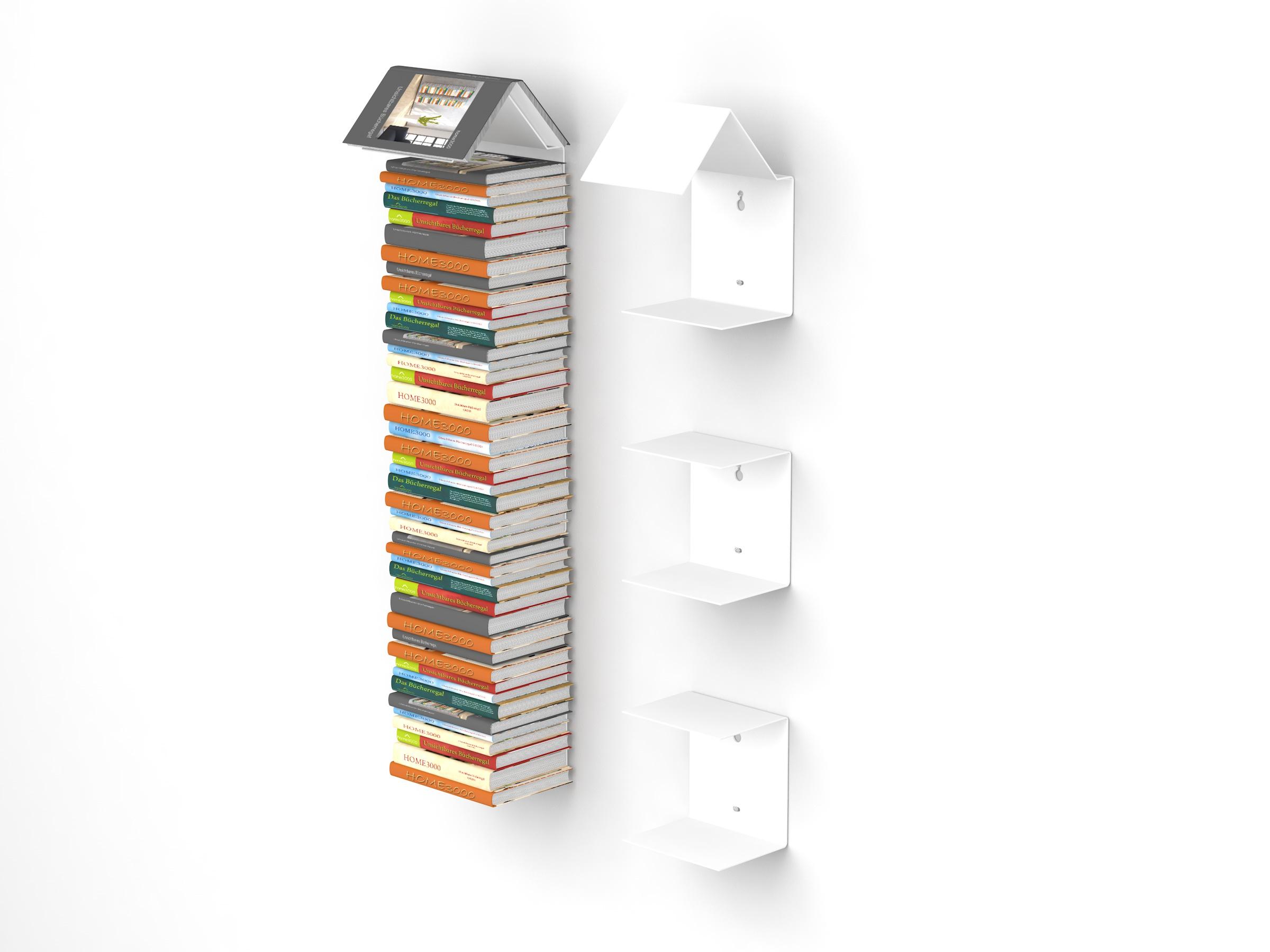 Full Size of Bücher Regal Home3000 Bookmark 2er Set Mit Unsichtbaren Bcherregalen Kaufen Dachschräge Grau Offenes Weiß Schmale Regale Paschen Wandregal Bad Paternoster Regal Bücher Regal