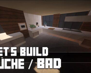 Minecraft Küche Wohnzimmer Minecraft Mbel Tutorial Moderne Kche Bad Haus Nr 11 Fliesenspiegel Küche Selber Machen Glaswand Niederdruck Armatur Lüftungsgitter Bodenbelag Eiche