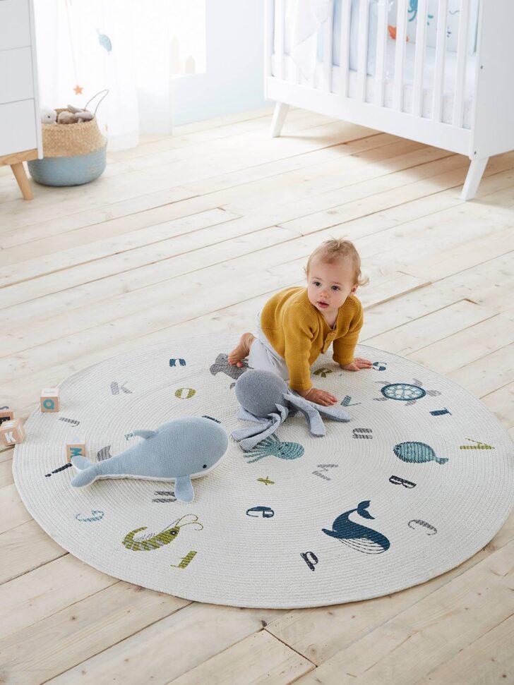 Medium Size of Vertbaudet Runder Teppich Ozean In Wollwei Regale Kinderzimmer Esstisch Küche Für Badezimmer Wohnzimmer Regal Schlafzimmer Weiß Teppiche Bad Ausziehbar Sofa Kinderzimmer Runder Teppich Kinderzimmer