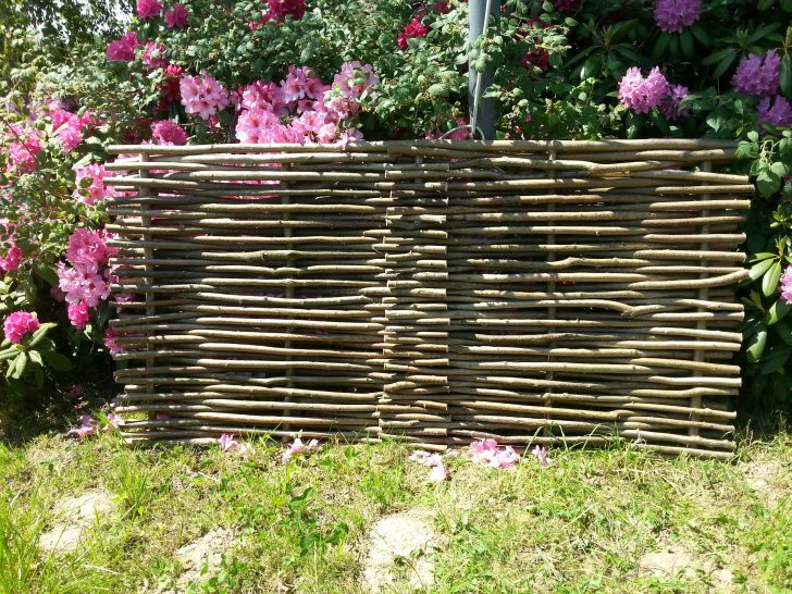 Paravent Terrasse Sichtschutz Aus Holz Fr Und Garten Blog Staketenzaun Wohnzimmer Paravent Terrasse