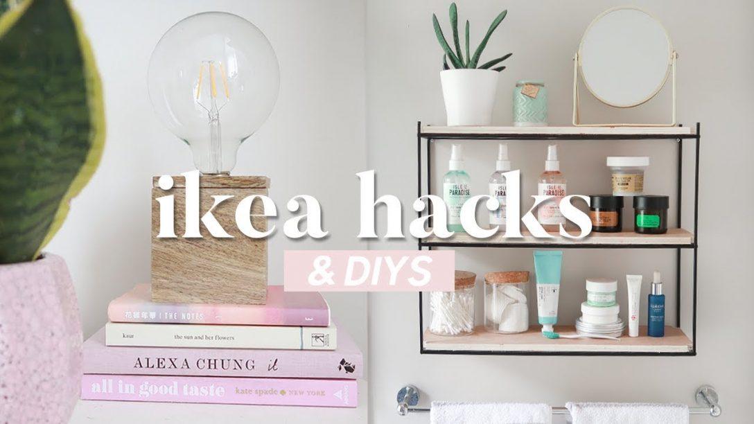 Large Size of Ikea Hacks And Diys 2019 Easy Budget Room Decor Youtube Modulküche Miniküche Küche Kosten Kaufen Betten 160x200 Bei Sofa Mit Schlaffunktion Wohnzimmer Ikea Hacks