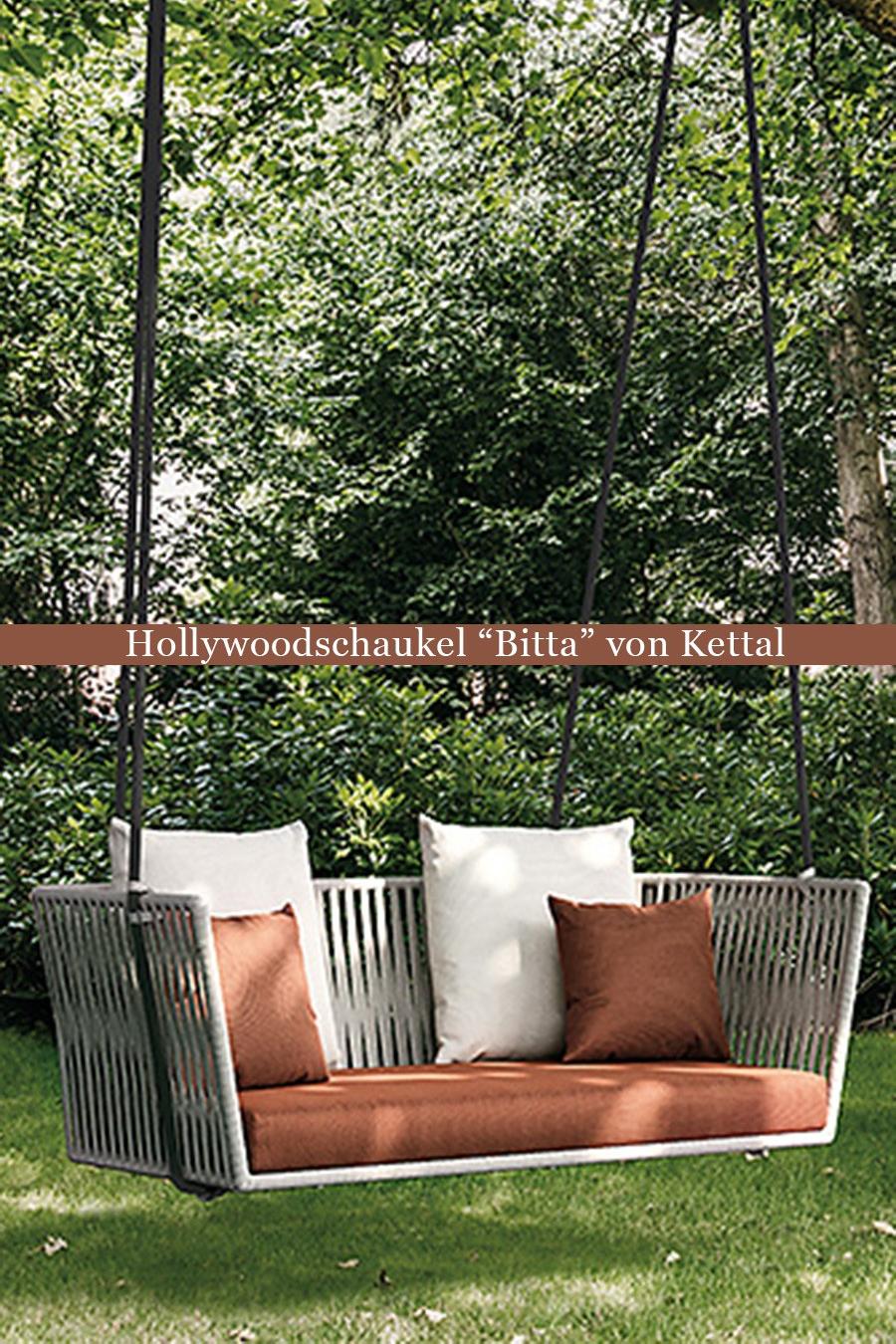 Full Size of Hollywoodschaukel Bitta Von Kettal Bild 2 Schaukel Garten Wohnzimmer Gartenschaukel Erwachsene