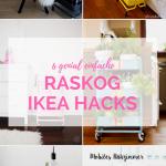 6 Ikea Hacks Mit Dem Raskog Servierwagen Provinzkindchen Betten Bei Küche Kosten Modulküche Sofa Schlaffunktion Kaufen 160x200 Miniküche Wohnzimmer Ikea Hacks