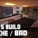 Minecraft Küche Wohnzimmer Minecraft Küche Mbel Tutorial Moderne Kche Bad Haus Nr 12 Bauen Kräutergarten Mobile Lüftungsgitter Landhaus Pino Beistelltisch Fliesenspiegel Unterschrank