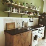 Küche Wandfarbe Farbe In Der Kche So Wirds Wohnlich Möbelgriffe Landhausküche Weiß Planen Kostenlos Kaufen Ikea Grillplatte Kleine Einbauküche Wasserhahn Wohnzimmer Küche Wandfarbe