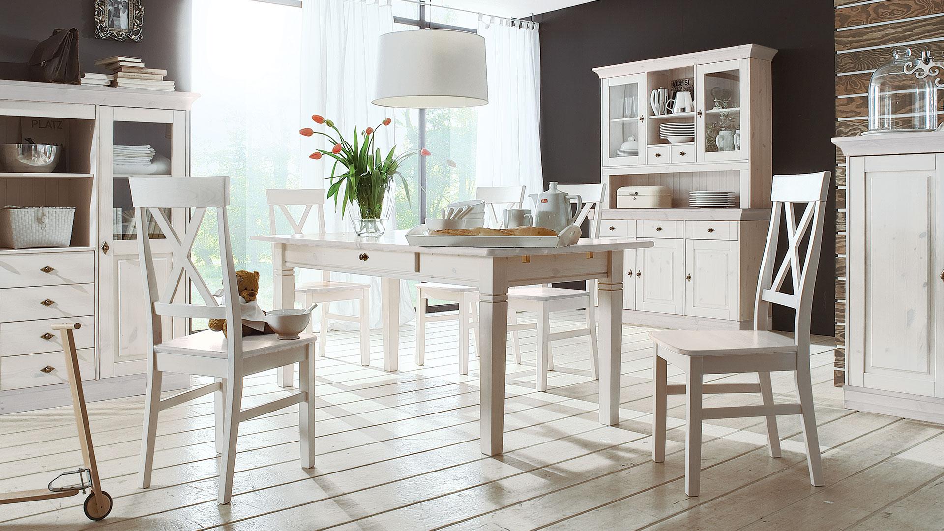 Full Size of Weißer Esstisch Tisch Romantico Llassisch Rustikaler Lampen Eiche Massiv Vintage 80x80 Nussbaum Ovaler Oval Altholz Massivholz Ausziehbar Esstische Kaufen Esstische Weißer Esstisch