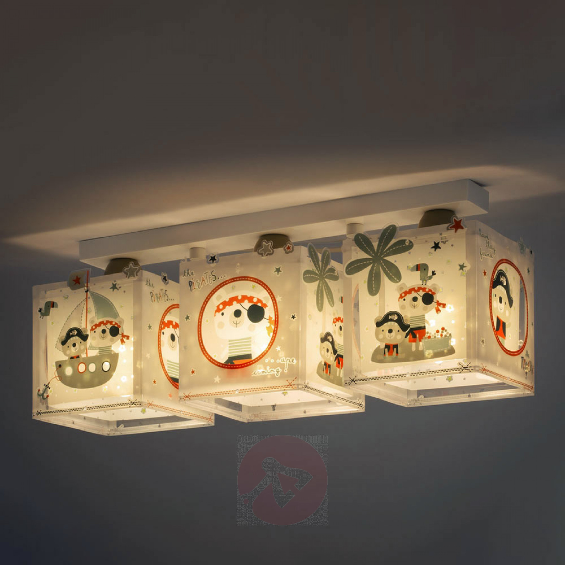 Full Size of Dreiflammige Deckenlampe Pirates Frs Kinderzimmer Kaufen Deckenlampen Für Wohnzimmer Regal Regale Weiß Modern Sofa Kinderzimmer Deckenlampen Kinderzimmer