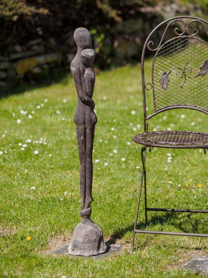 Medium Size of Eisen Skulptur Statue Liebe Paar Moderne Garten 98cm Aubaho Kopfteil Für Bett Wellnesshotels Baden Württemberg Regale Keller Ecksofa Stapelstühle Fsj Bad Wohnzimmer Skulpturen Für Den Garten