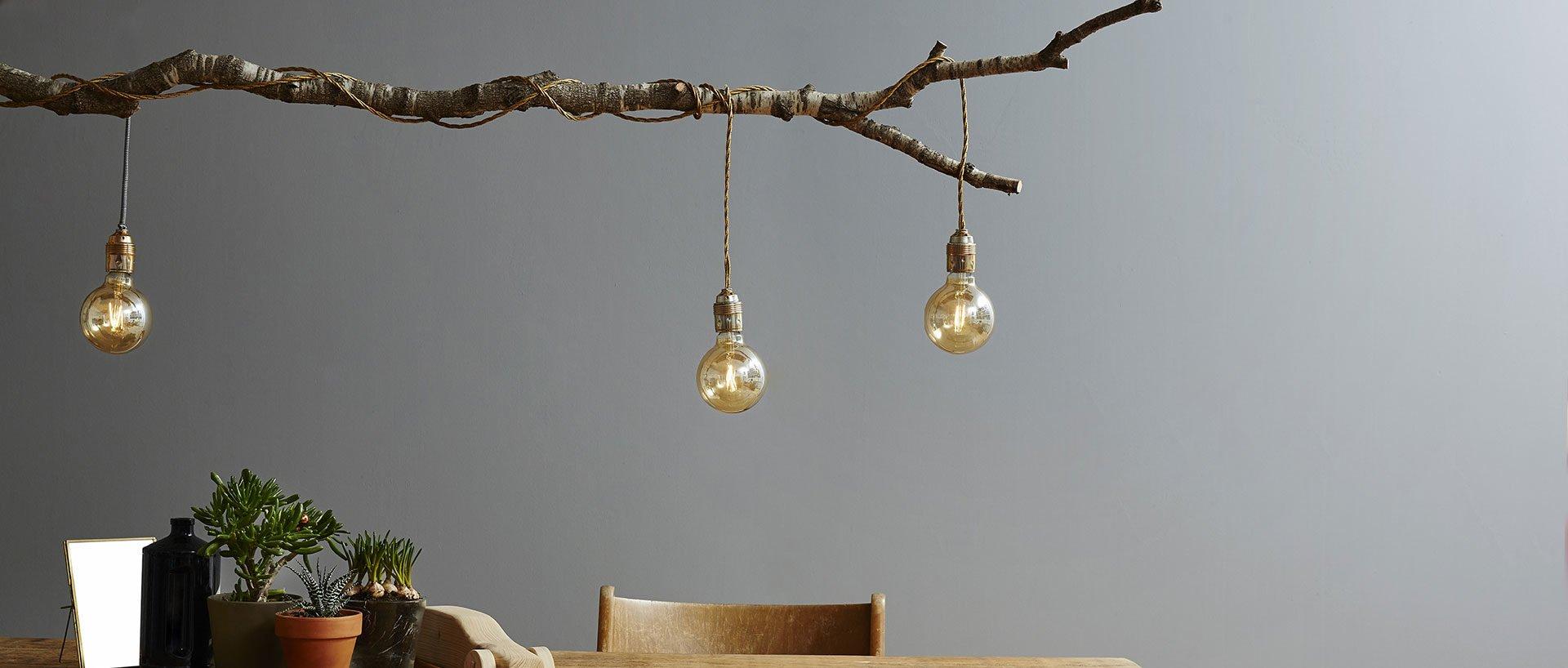Full Size of Hngelampen Selber Basteln Aus Sten Zuhause Bei Sam Wohnzimmer Hängelampen