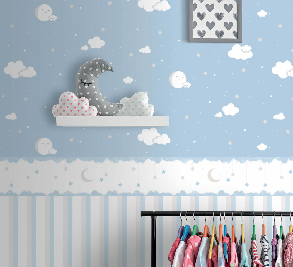 Full Size of Rasch Textil Lullaby Tapeten Und Bordren In Zarten Farben Mit Regal Kinderzimmer Weiß Sofa Regale Kinderzimmer Bordüren Kinderzimmer
