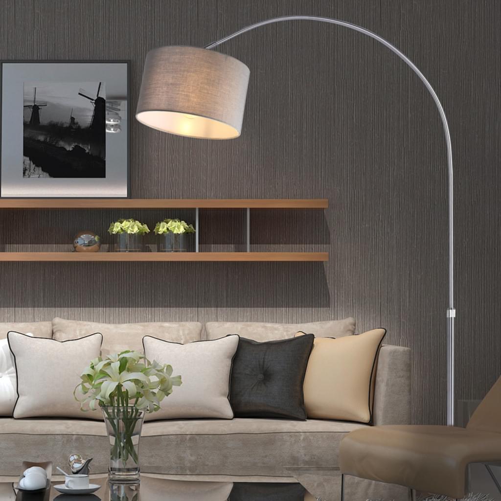 Full Size of Bogenlampe Esstisch Monzana Design Hhe 133 180cm Stoffschirm Real Moderne Esstische Rund Mit Stühlen Weiß Ausziehbar Eiche Massiv Massivholz Pendelleuchte Esstische Bogenlampe Esstisch